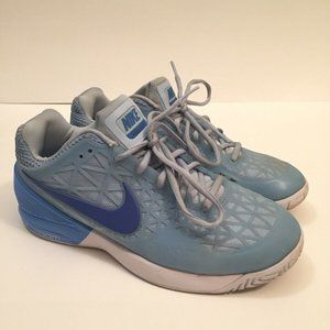 NIKE Zoom Cage 2 Womens Shoes Ice Blue Size:8